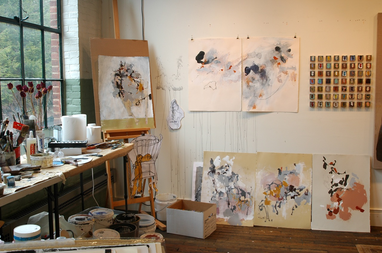 Macarthur fellow anna schuleit the whole sweep of trying - Ideas decoracion pintura ...