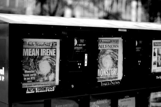Hurricane Irene-News-New York City