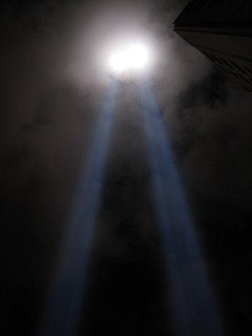9-11 light memorial