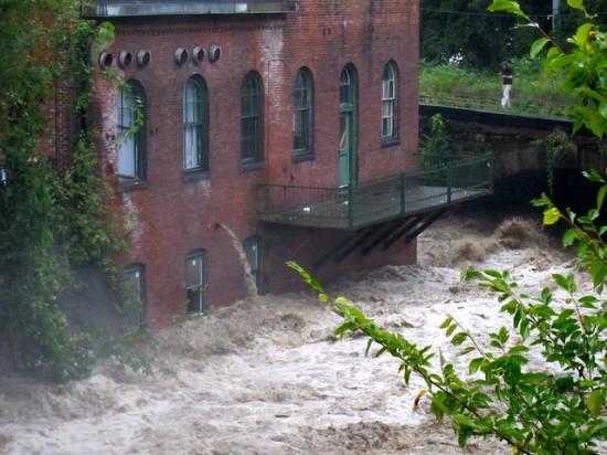 Hurricane Irene-Vermont