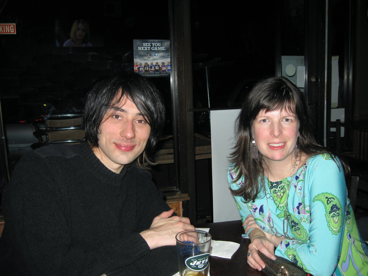 Performer and singer Joseph Keckler and Michelle Aldredge in New York City. (Photo by Geraldine Winifred Visco)