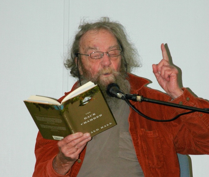 donald hall essay poetry Philip terzian wrote a kind essay in the about the author donald hall served as us poet laureate in 2006 he has published numerous books of poetry.