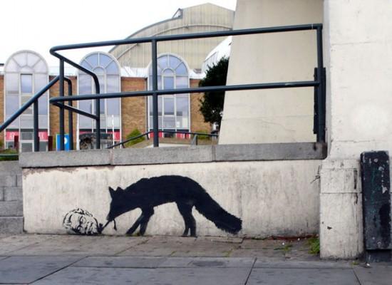 Kentucky Fox by Banksy