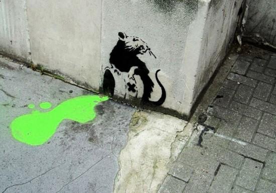 Rat-Banksy-Toxic Spill