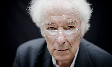 Seamus Heaney (Photo by Felix Clay courtesy The Guardian)