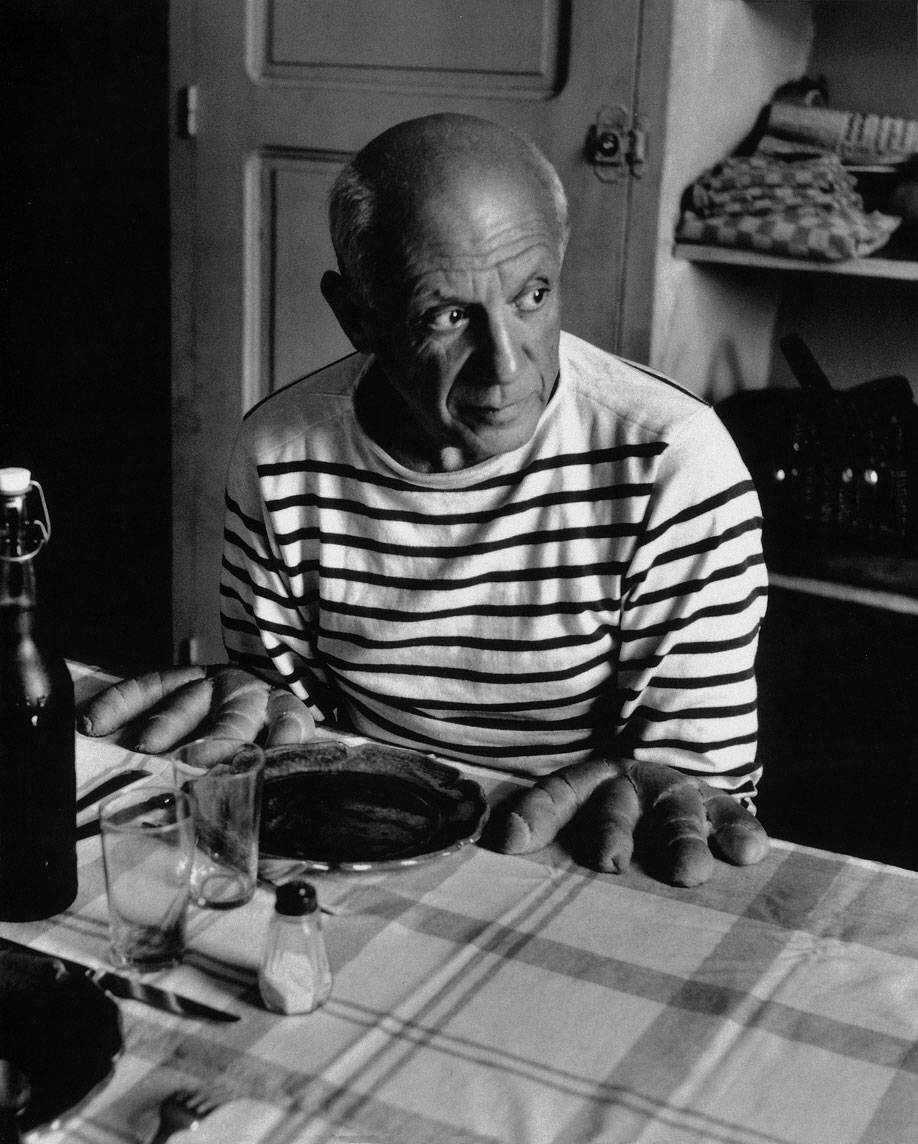 Picasso-Robert Doisneau