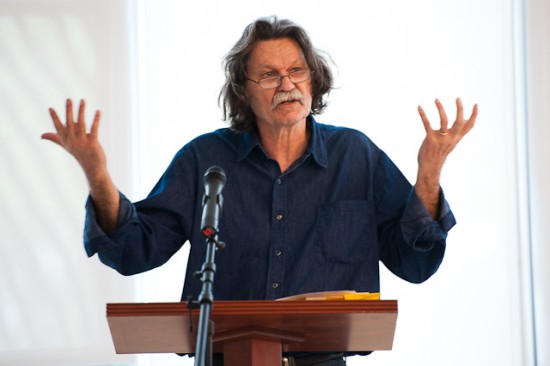 Poet Gregory Orr (Photo courtesy the Geraldine R. Dodge Foundation)