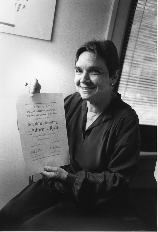 poetry of adrienne rich on feminism and female strength Adrienne rich, one of the country's most honored and influential poets, whose finely tuned verse explored her identity as a feminist, a lesbian and an agent for political change, died tuesday at.