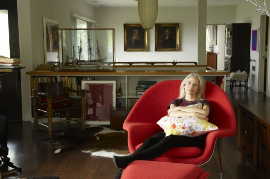 Rachel Perry Welty in her home near Gloucester, Massachusetts (Photo by Hornick/Rivlin)