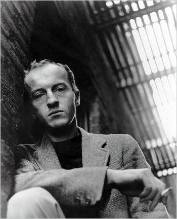 Frank O'Hara in 1958 (Photo by Harry Redl)