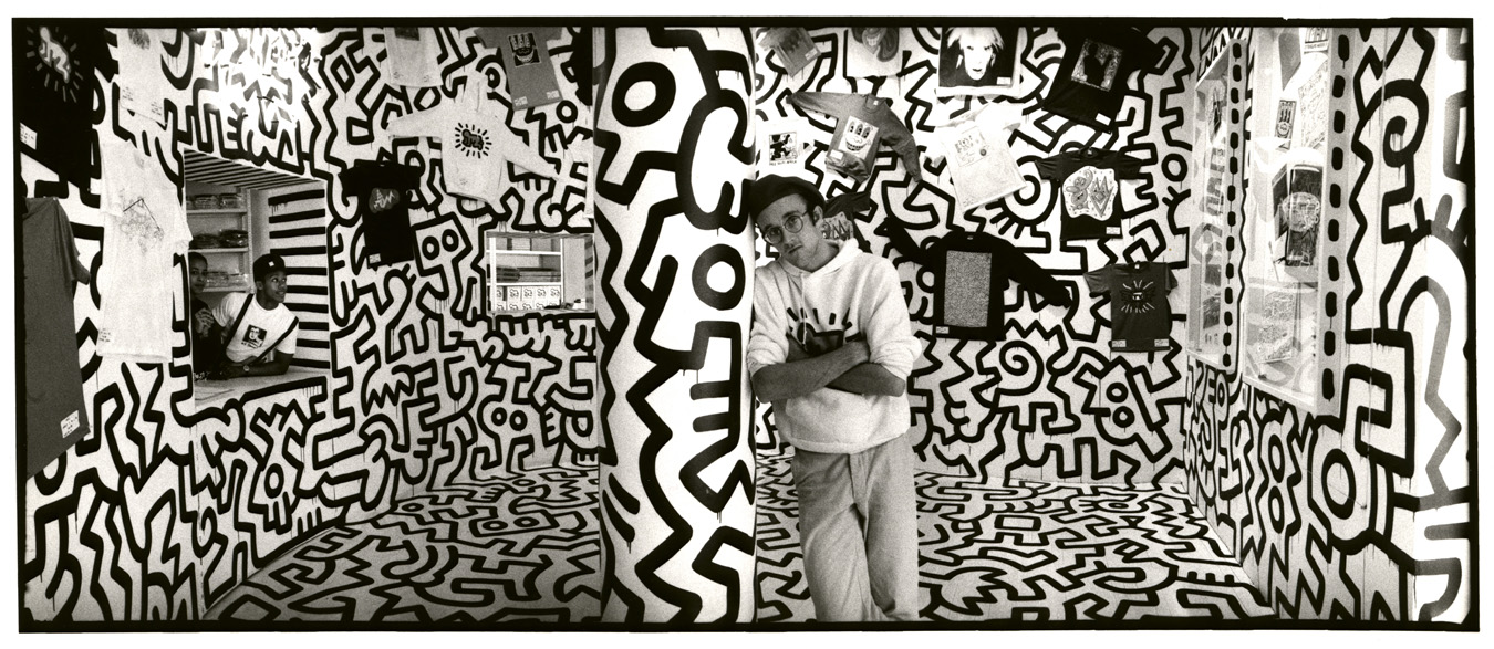 An exclusive peek inside keith haring 39 s new york city Carrelage keith haring