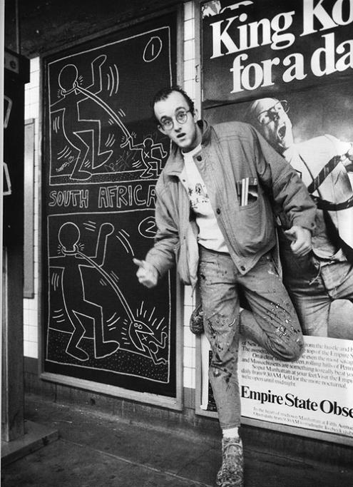 An Exclusive Peek Inside Keith Haring S New York City