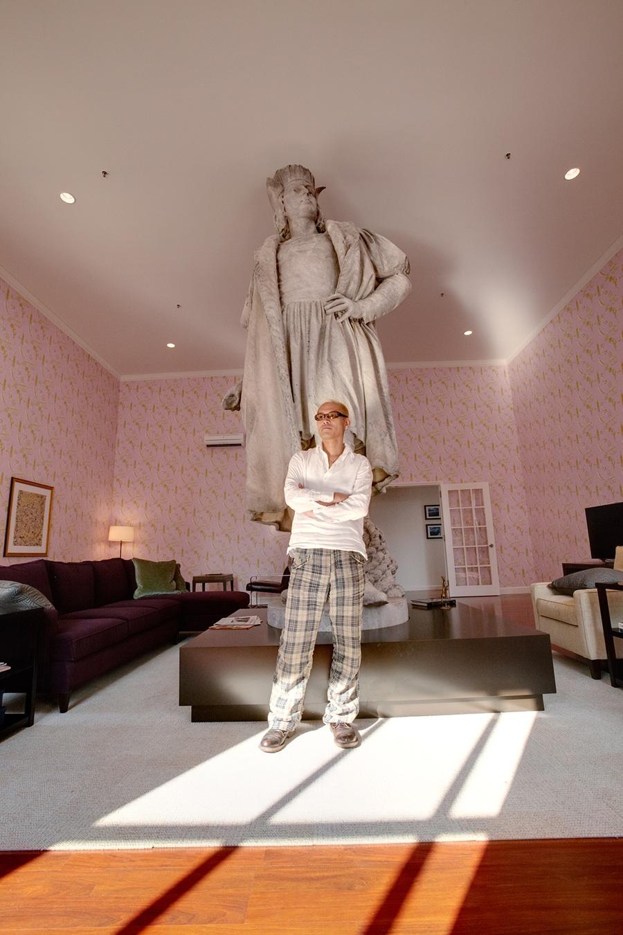 Tatzu Nishi Builds Christopher Columbus A Living Room In