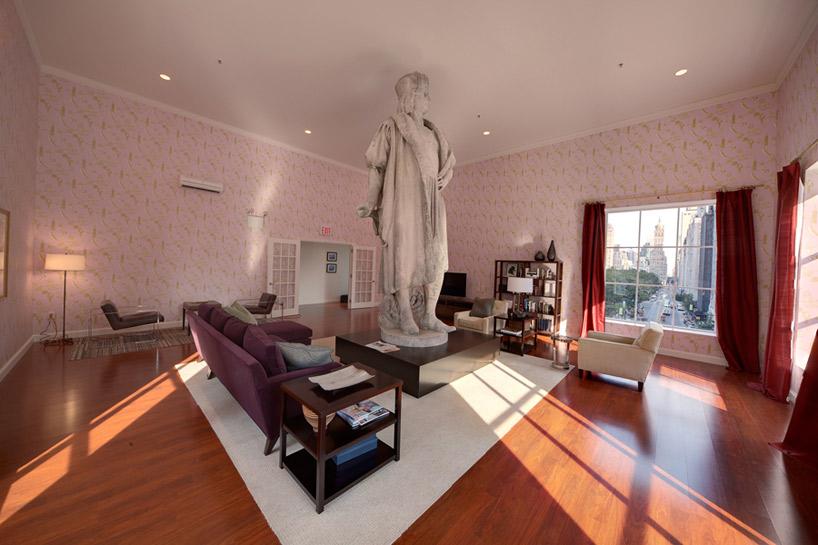 Tatzu Nishi Builds Christopher Columbus A Living Room In The Sky