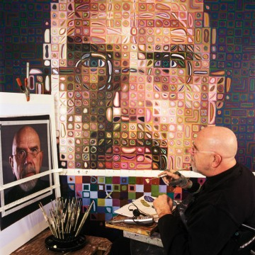 """I've always thought that problem-solving is highly overrated and that problem creation is far more interesting."" -Chuck Close"