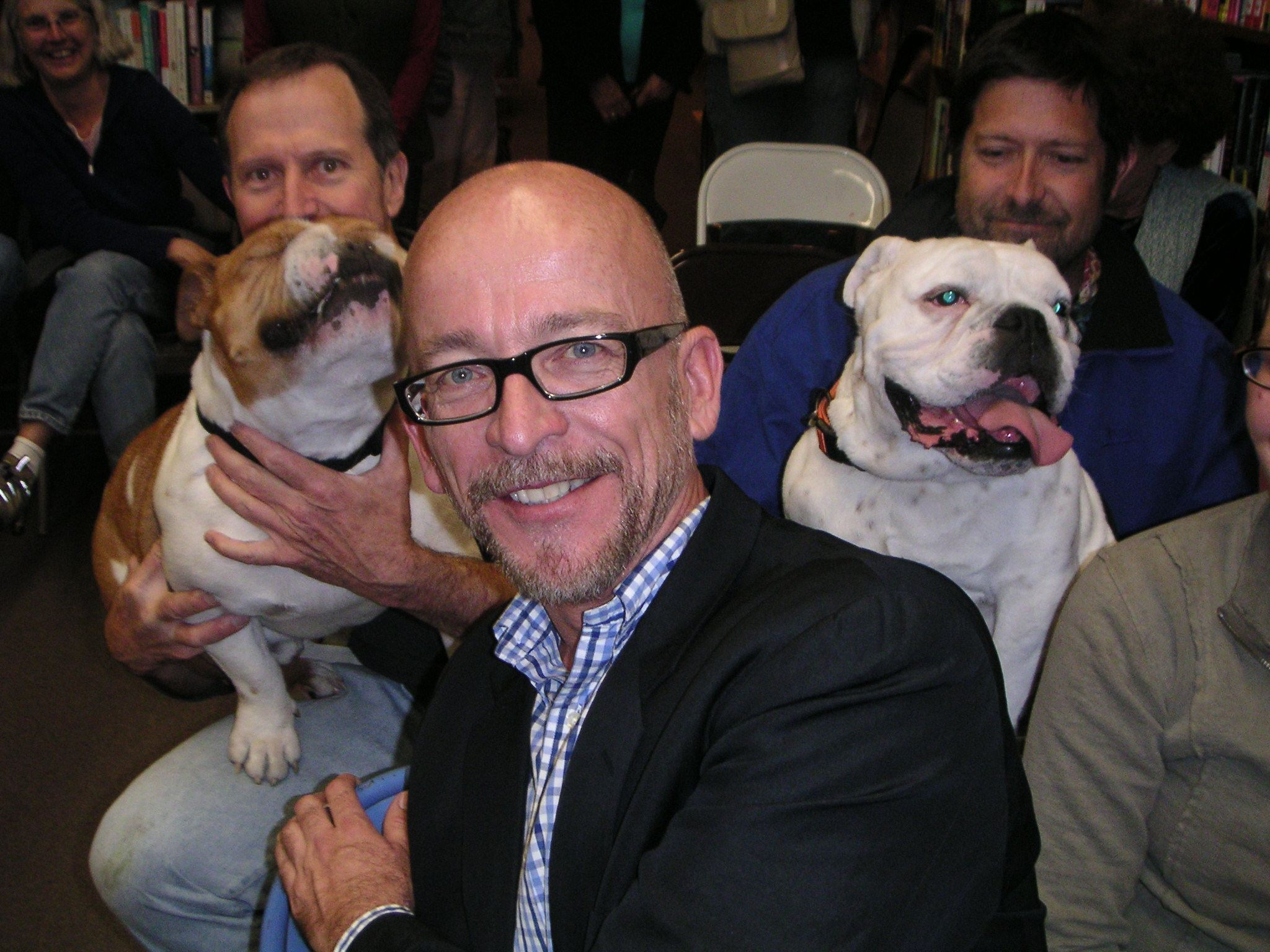 Mark Doty at Readers Books in Sonoma, California in 2007