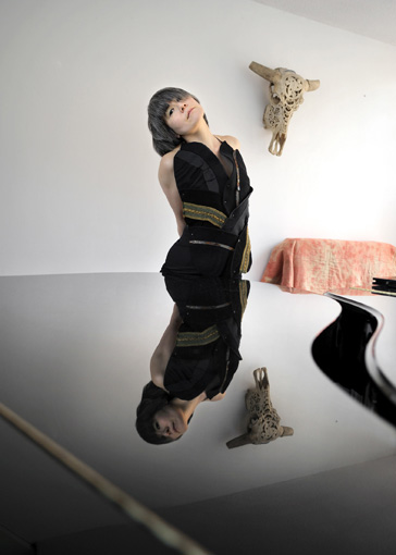Tomoko Mukaiyama (Photo by Joost van den Broek courtesy the artist's website)