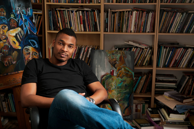 Writer Terrance Hayes (Photo by Becky Thurner Braddock)