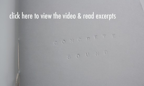 Click Here to Read Concrete Sound