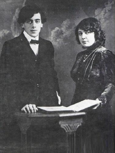 Sergei Efron and Marina Tsvetaeva