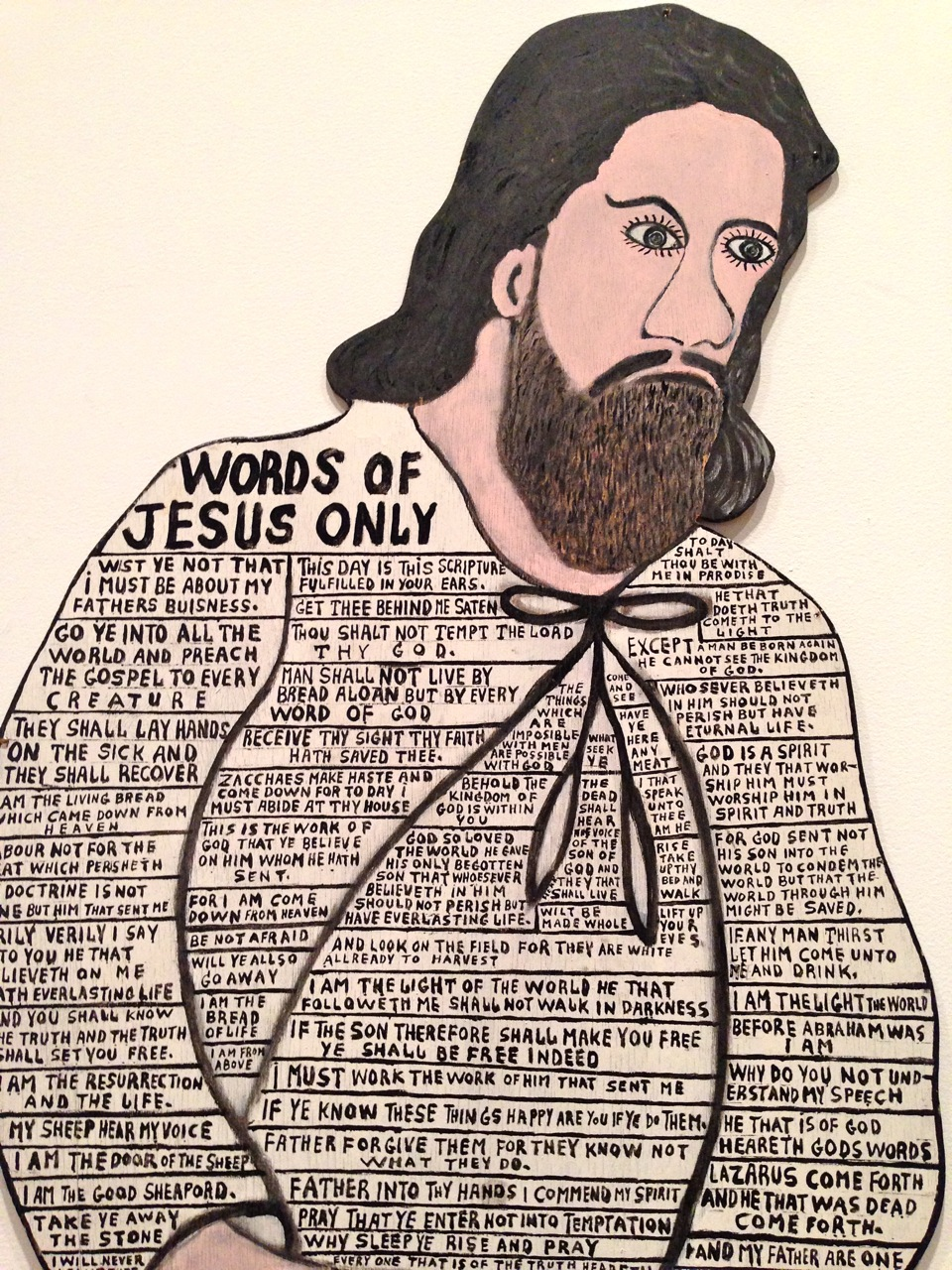 Howard Finster-Words of Jesus Only-Michelle Aldredge1