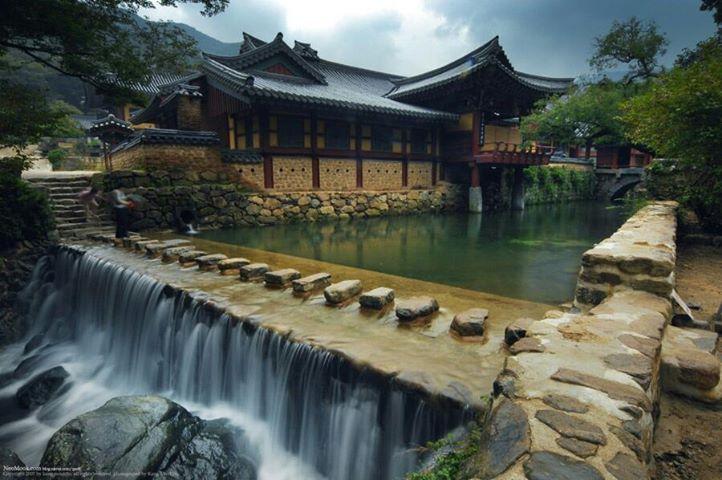 Songgwangsa temple (송광사) in Korea