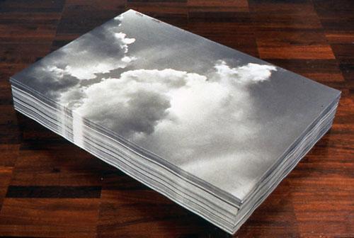 Felix Gonzalez-Torres, Untitled (Aparicion), 1991. (Photo © 2013 The Felix Gonzalez-Torres Foundation)
