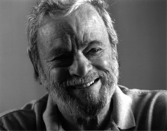 Stephen Sondheim is the 54th Edward MacDowell Medal winner and will accept the award at the Colony in Peterborough, New Hampshire, on August 11, 2013. (Photo by Jerry Jackson)