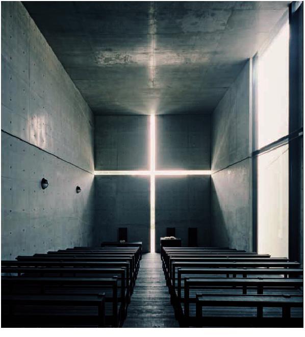 Tadao Ando, Church of the Light, 1989. Osaka, Japan.