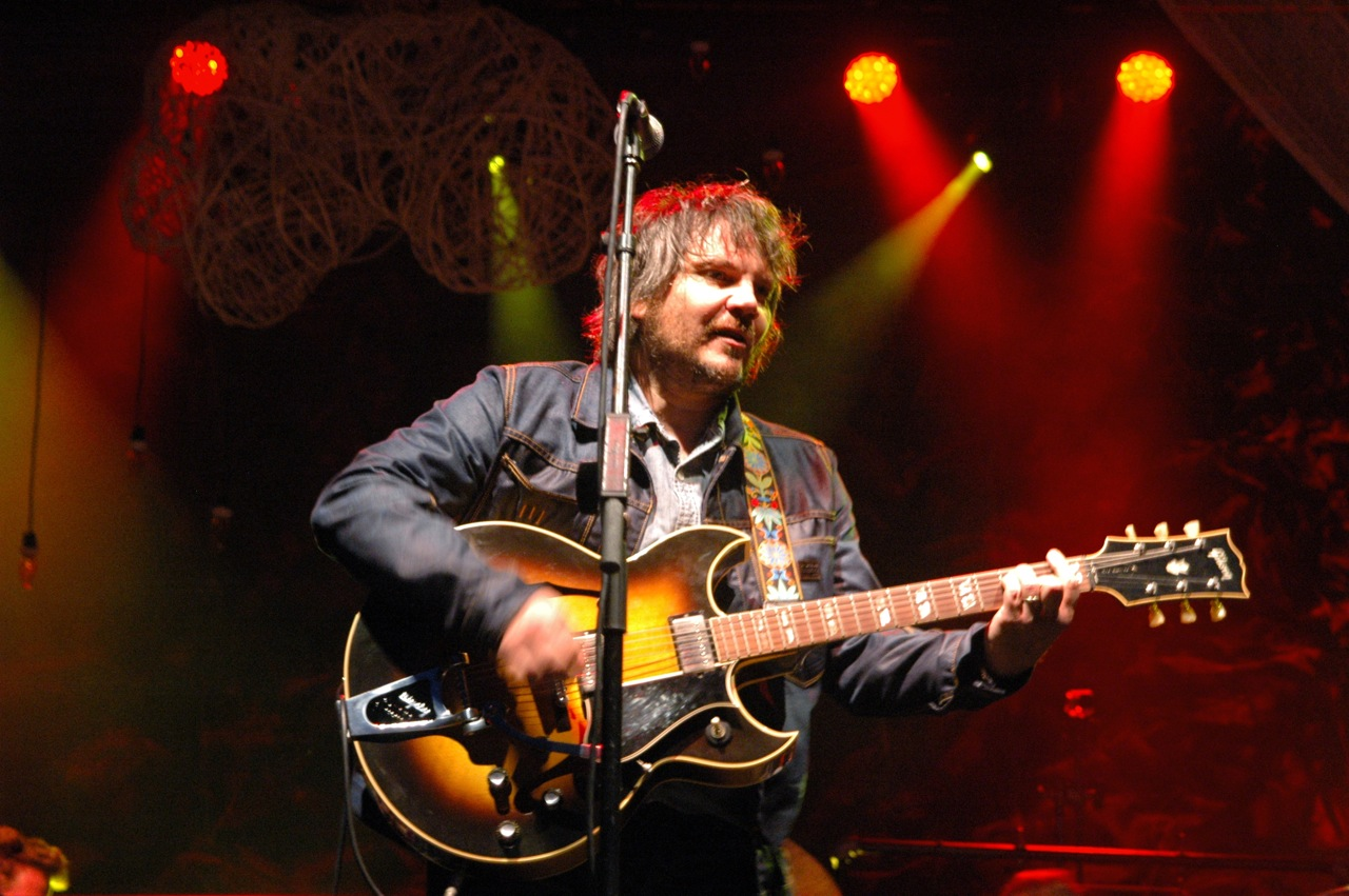 Jeff Tweedy of Wilco performing at the 2013 Solid Sound Festival at Mass MoCA in North Adams, Massachusetts (Photo by Michelle Aldredge)