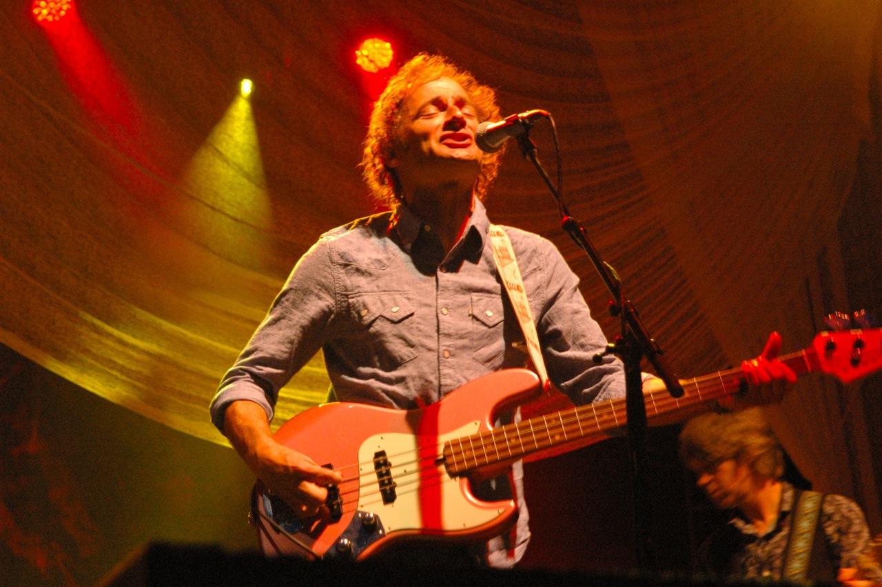 John Sirratt of Wilco (Photo by Michelle Aldredge)