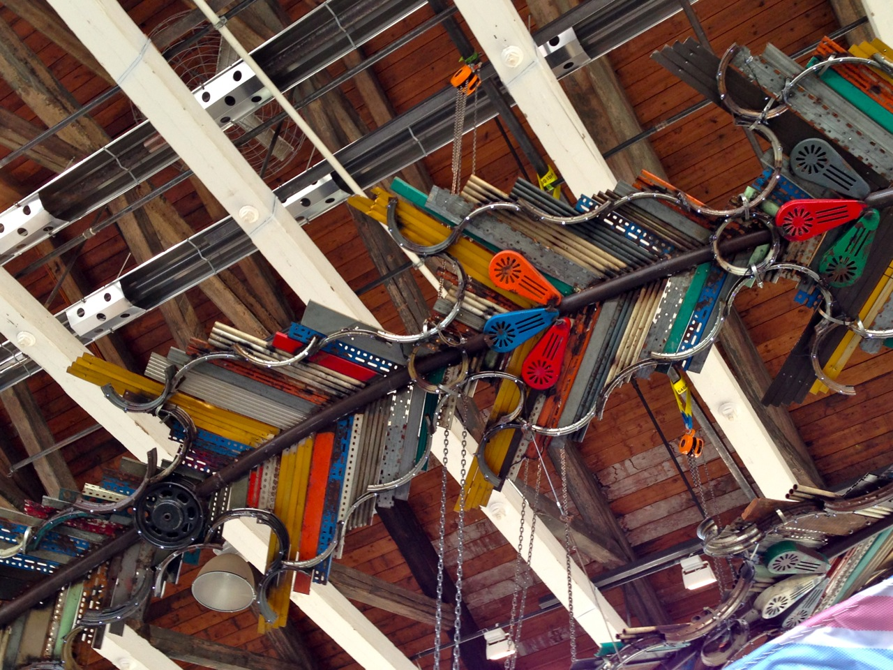 Xu Bing's Phoenix (Photo by Michelle Aldredge)