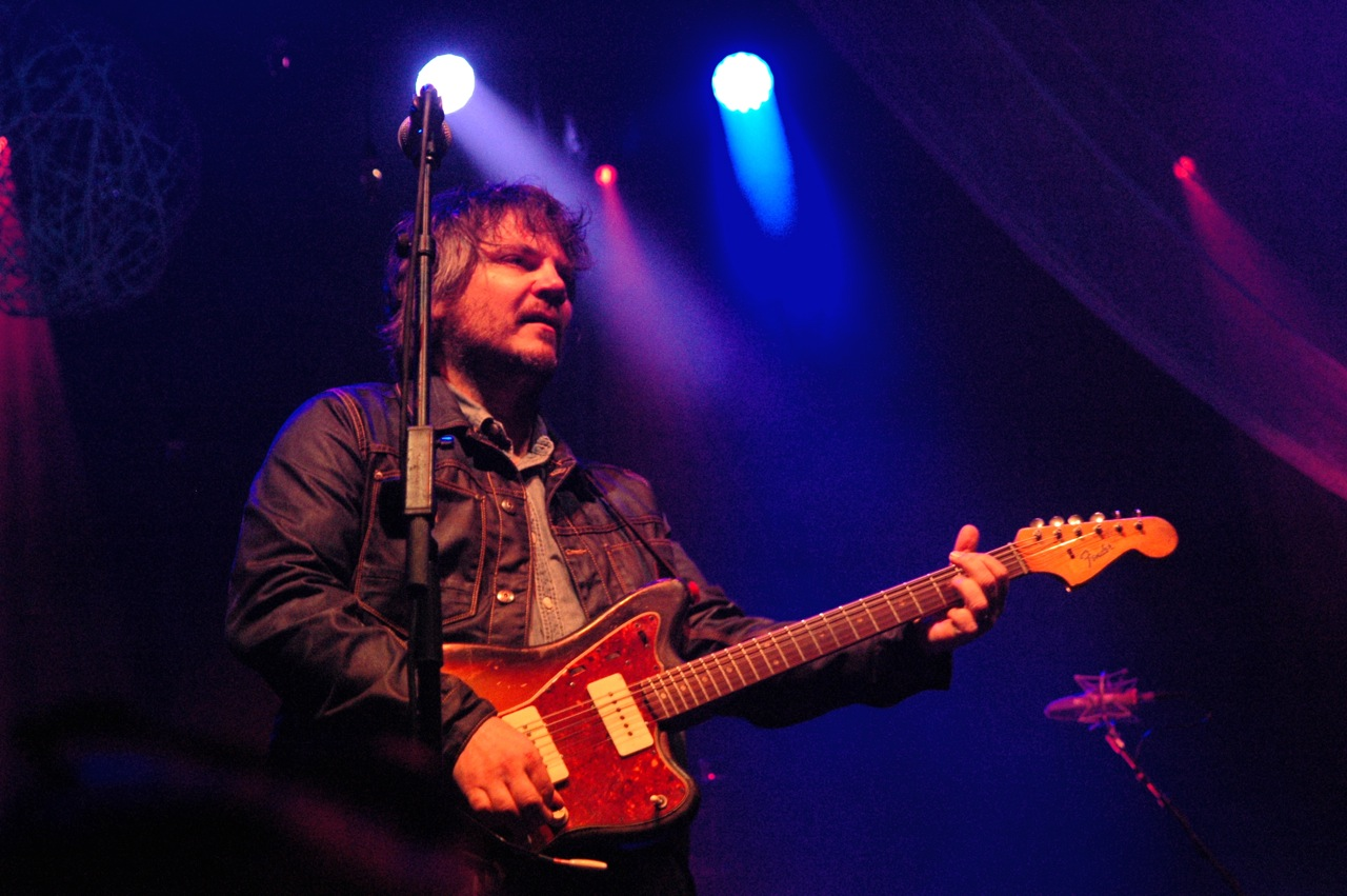 "Wilco's Saturday night set consisted of 28 songs. The encore included ""A Shot in the Arm,"" ""California Stars,"" (with Julian Lage), ""Just a Kid,"" and ""Dreamer in My Dreams"" (Photo by Michelle Aldredge)"