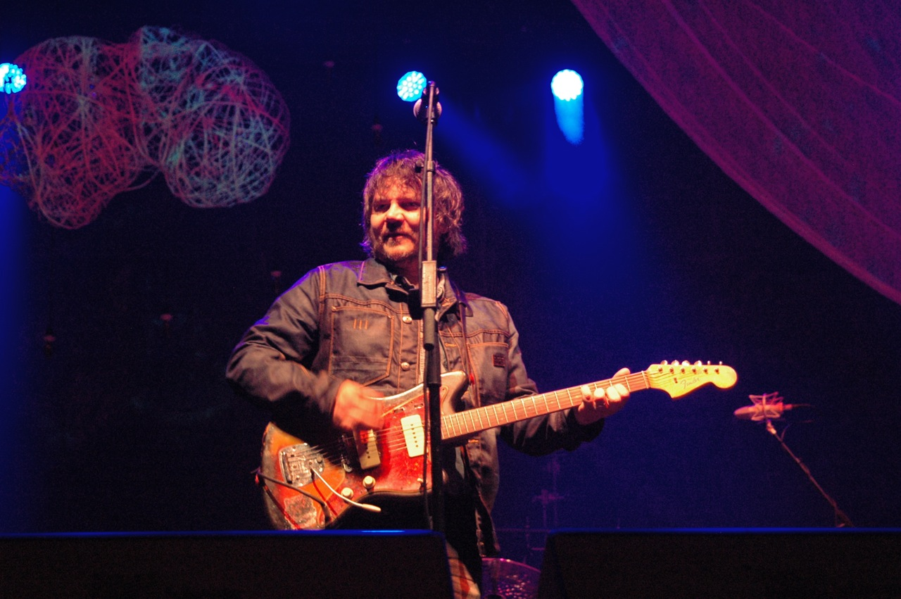 """Wilco's Saturday night set also included """"Laminated Cat"""" by Jeff Tweedy's side band Loose Fur. (Photo by Michelle Aldredge)"""