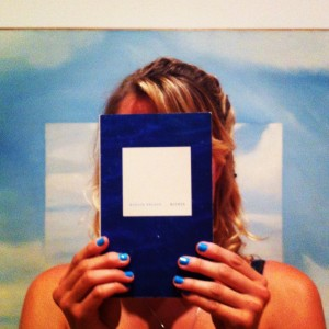 The cover of Maggie Nelson's Bluets (Photo courtesy Kelli Anne Noftle via theoffendingadam.com)