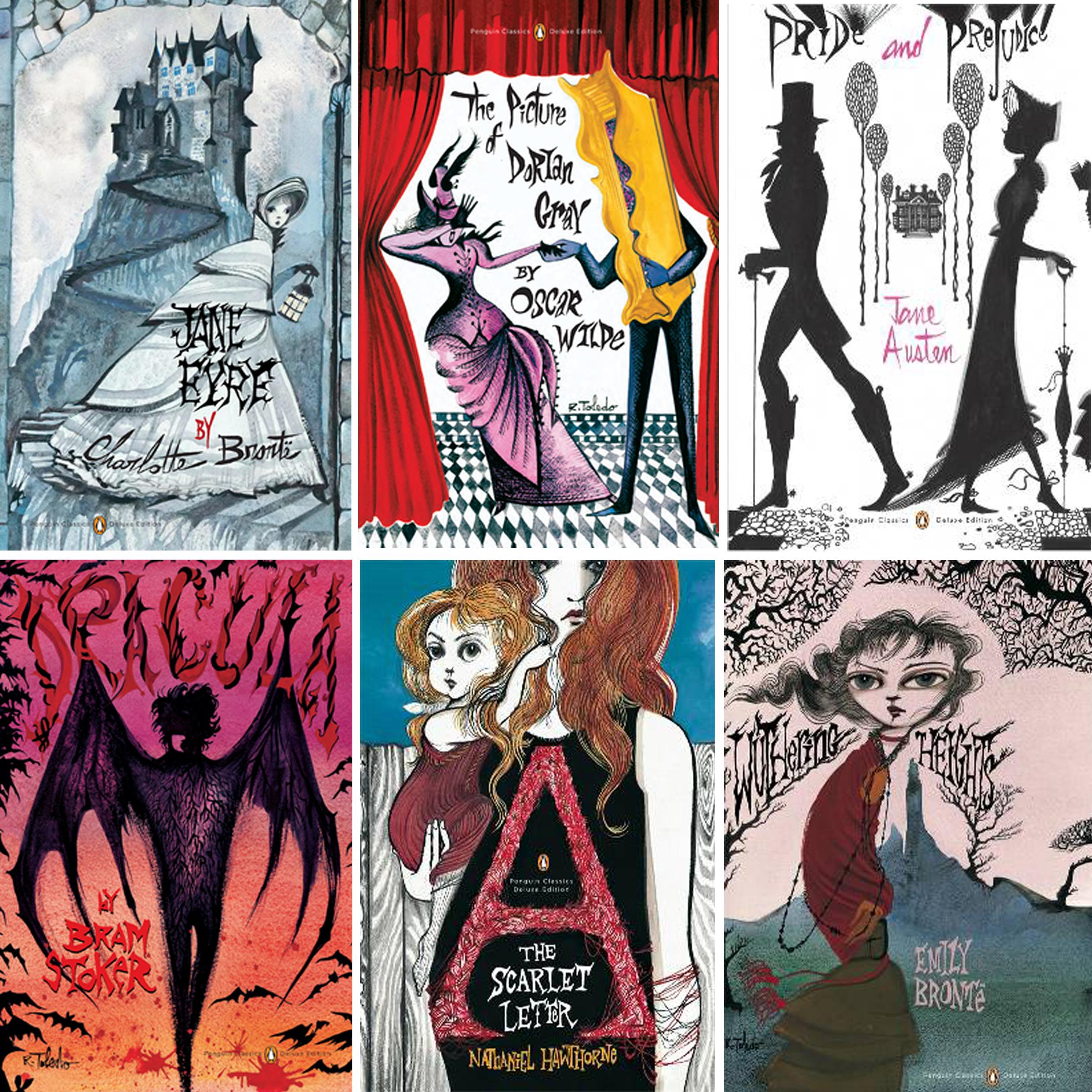 Penguin-classics-Ruben-Toledo-book-covers