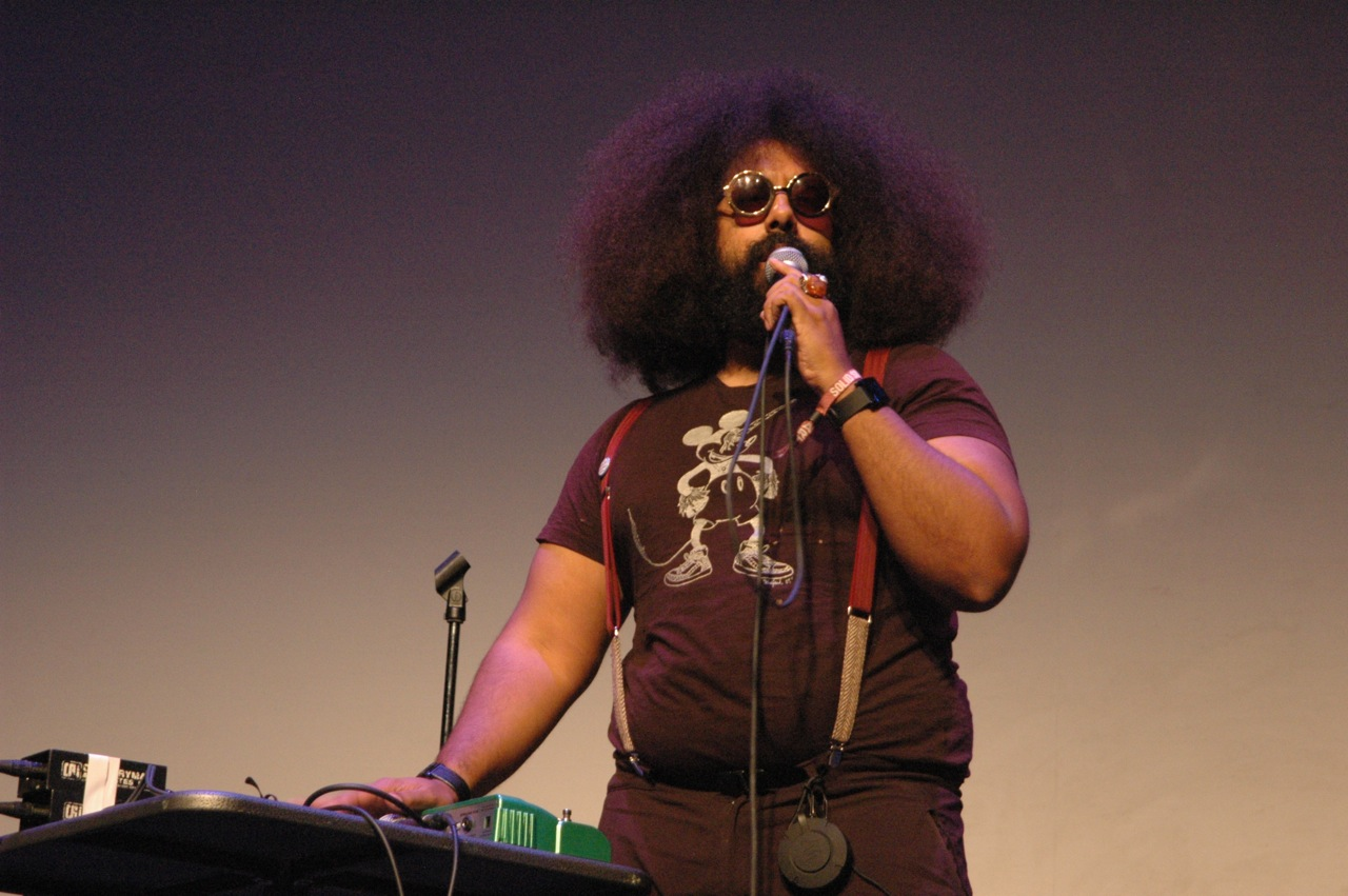 Reggie Watts (Photo by Michelle Aldredge)