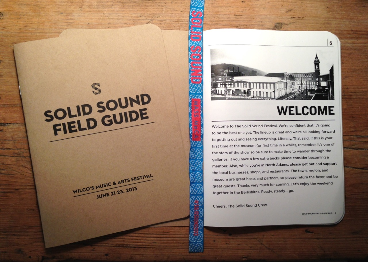 The Solid Sound program (Photo by Michelle Aldredge)