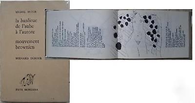 An original copy of Michel Butor's La banlieue de l'aube à l'aurore