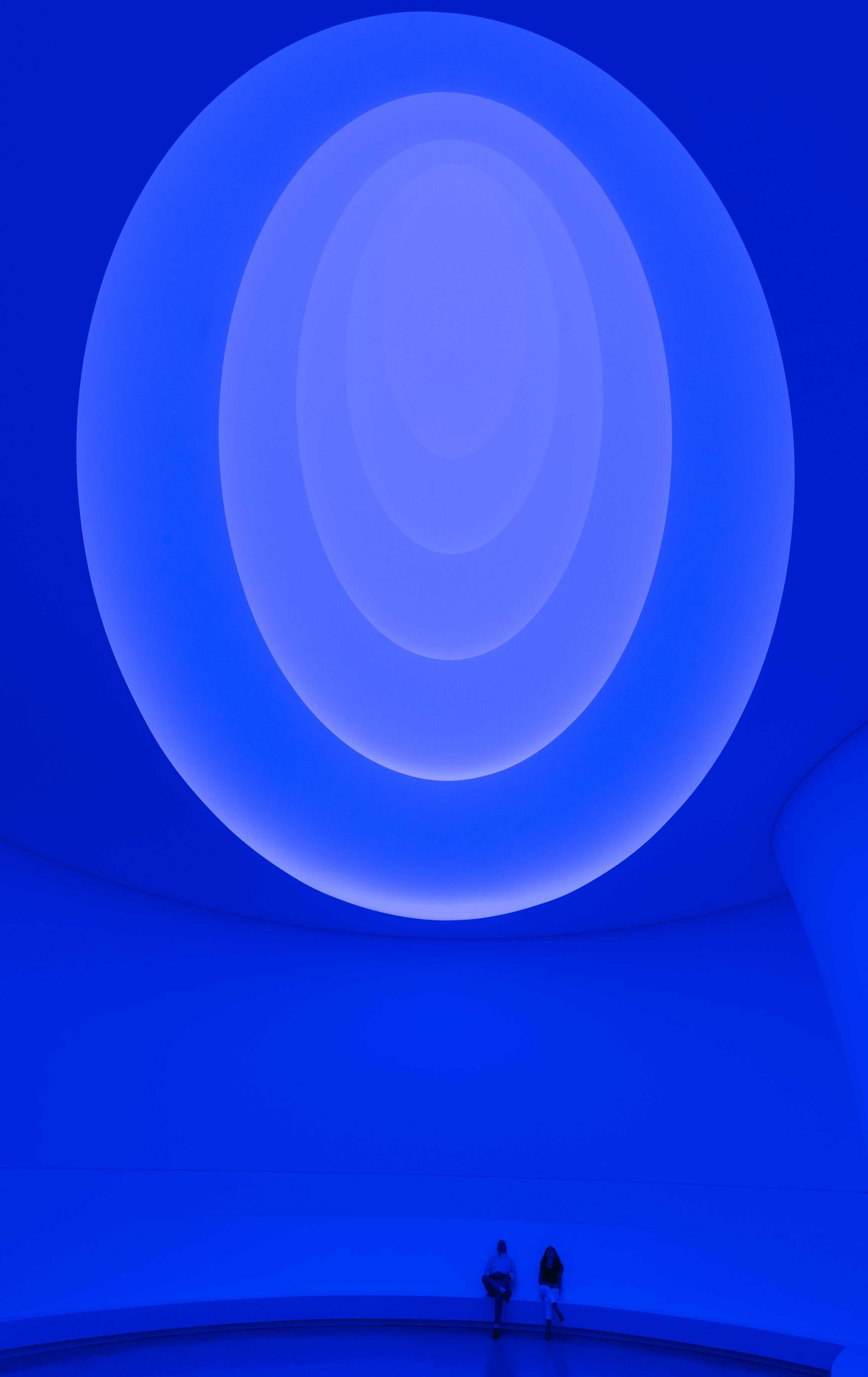 James Turrell Aten Reign, 2013 Daylight and LED light, dimensions variable © James Turrell (Photo by David Heald © Solomon R. Guggenheim Foundation)