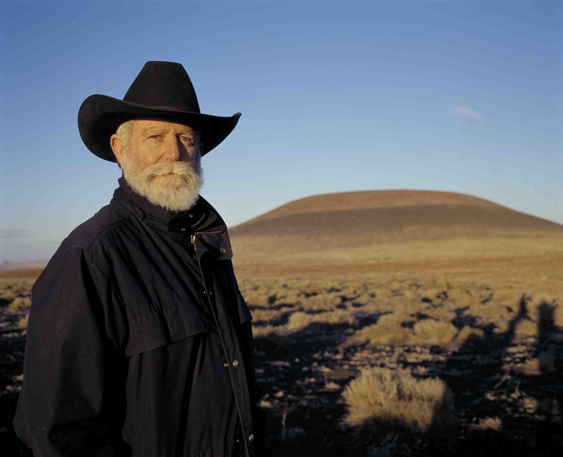 Artist James Turrell (Photo: Florian Holzherr © James Turrell)