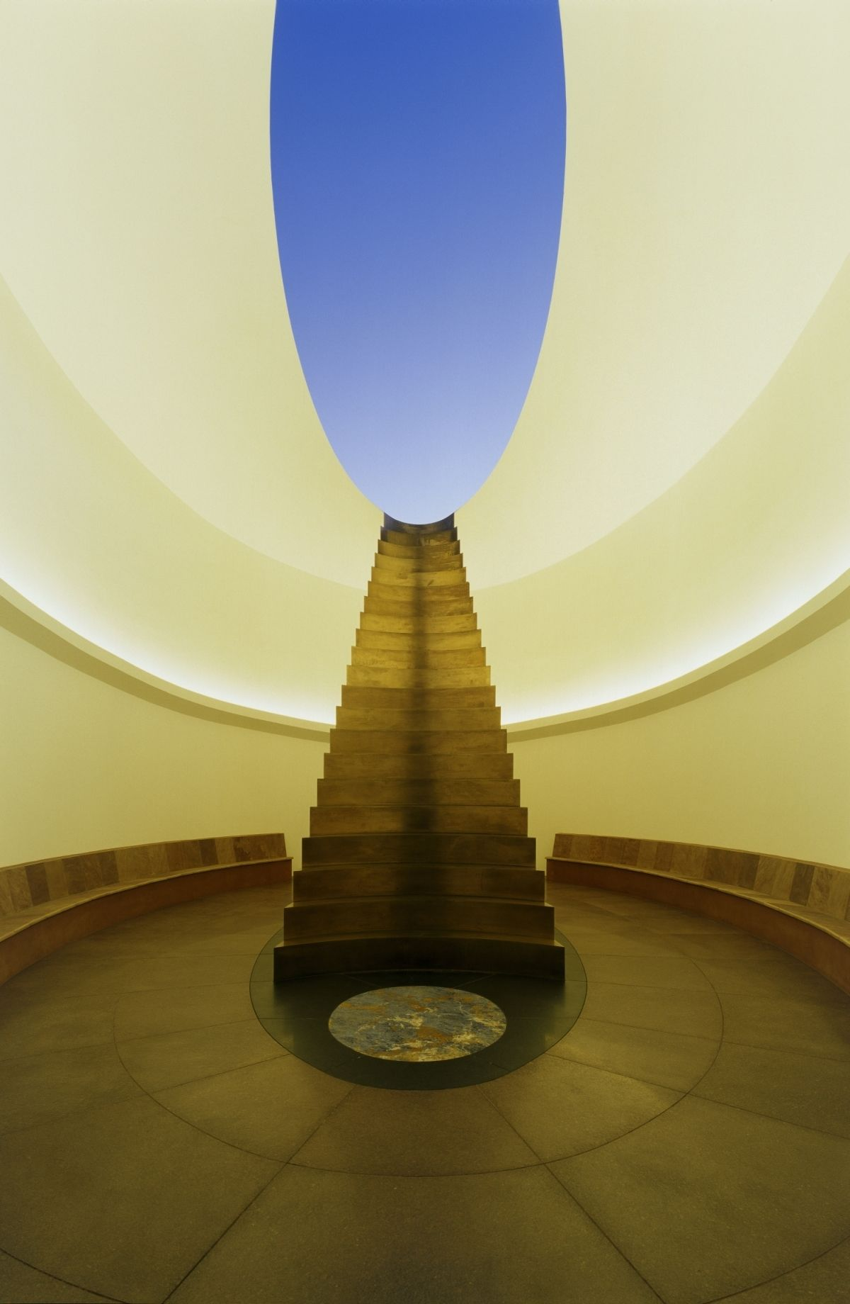 James Turrell: Roden Crater, East Portal. 2010. (Photo by Florian Holzherr)