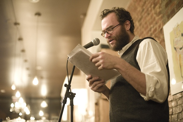Writer Joshua Beckman (Photo courtesy of Wave Books)