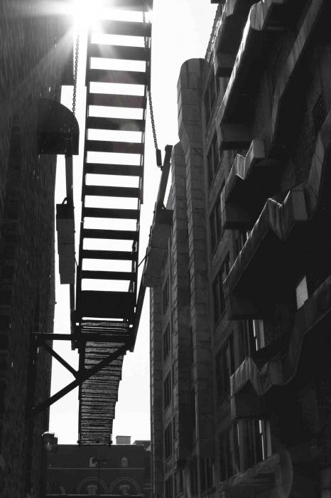 Minnesota Prison Writers Workshop-Stairs