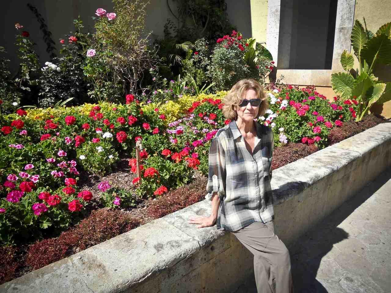 Poet Anne Valley-Fox in Oaxaca