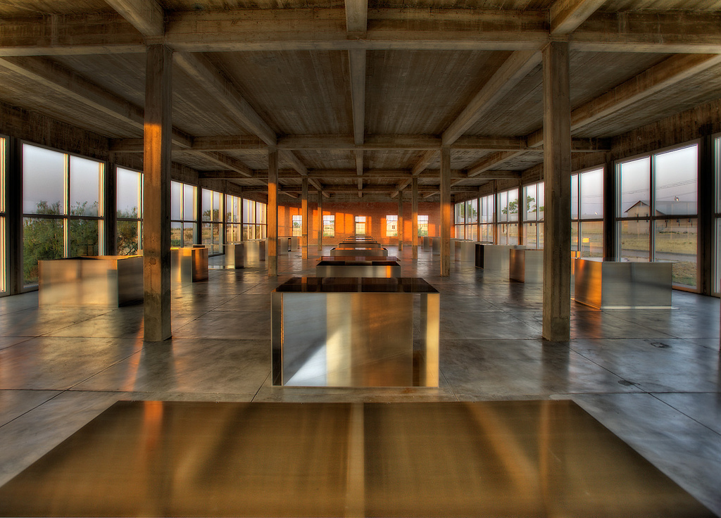 cloisters donald judd museum in marfa wrights