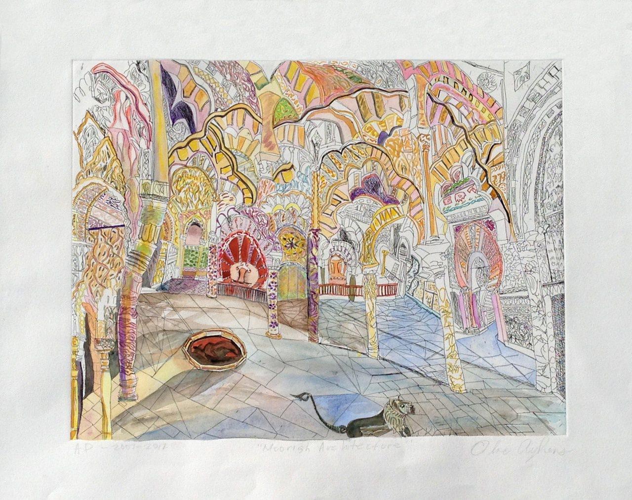 Olive Ayhens-Moorish Architecture
