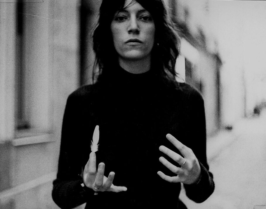Singer, writer, and artist Patti Smith (Photo by Linda Smith Bianucci)