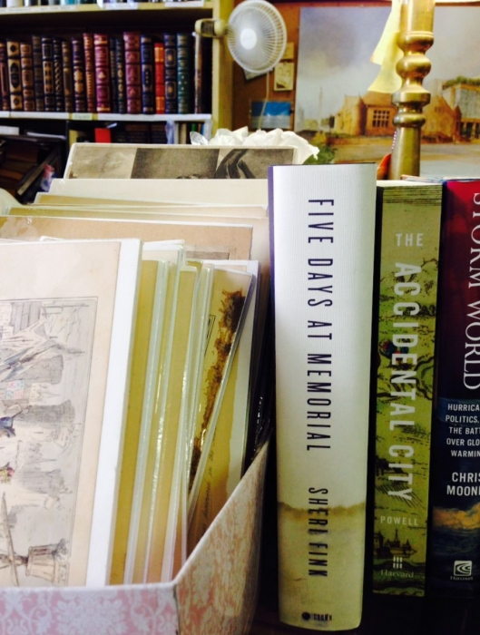 Sheri Fink in New Orleans Bookstores-Photo by Michelle Aldredge2