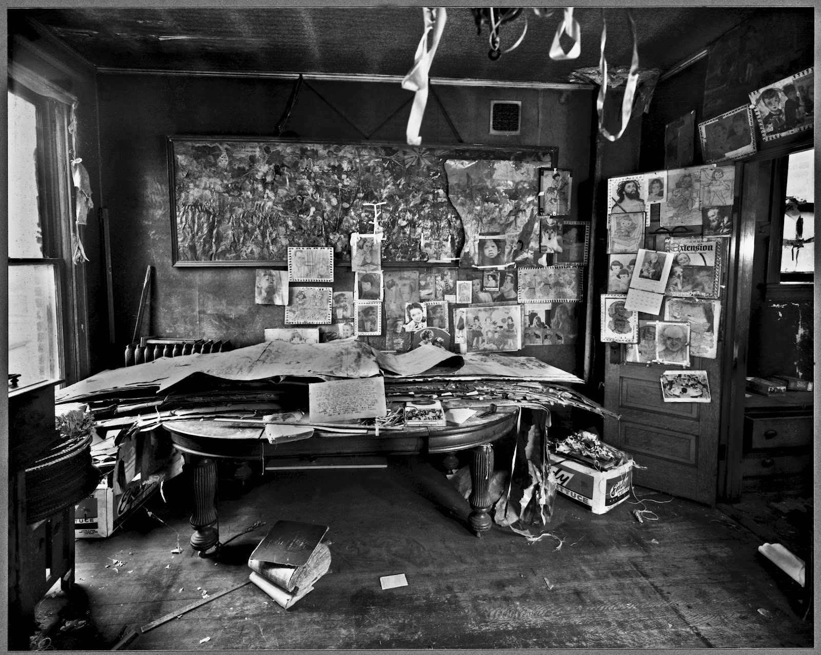 Henry Darger's Chicago Apartment (Photo by Michael Boruch courtesy Intuit: The Centre of Intuitive and Outsider Art)